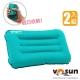 【VOSUN】超輕量拉扣式充氣枕頭(2入)_夢幻藍 product thumbnail 1