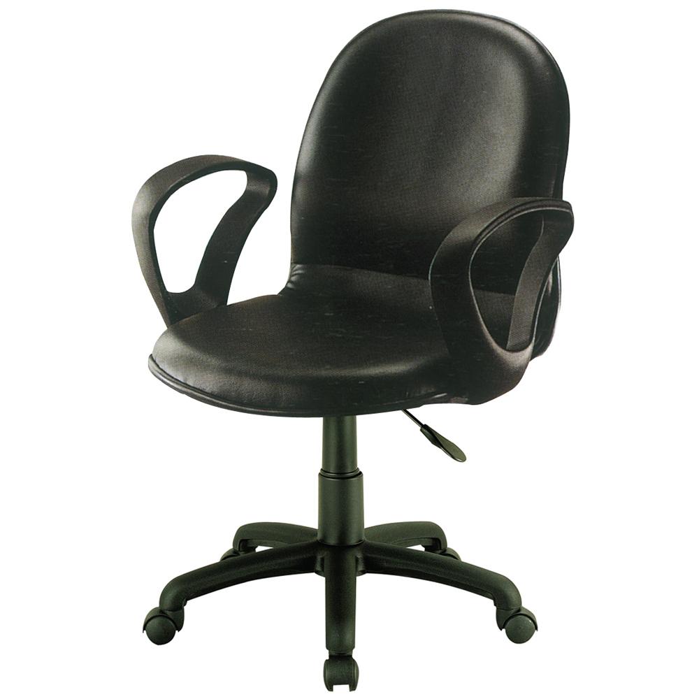 騎士雙扶手皮質氣壓辦公椅/電腦椅