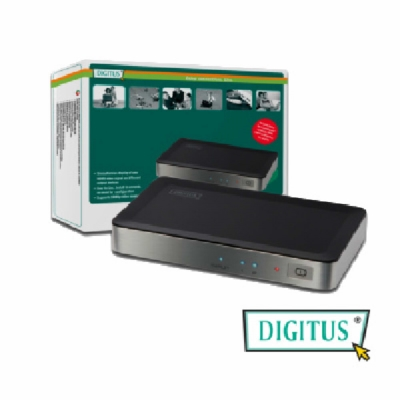 曜兆DIGITUS HDMI ~DS-41300一入二出分配器(附電源)