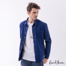 Earl Jean 玩色素面襯衫-藍色-男