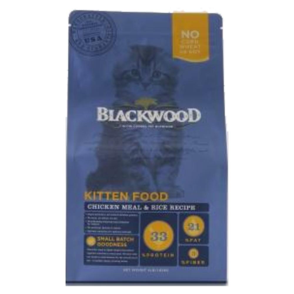 BlackWood 柏萊富 特調幼貓成長(雞肉+米)4磅