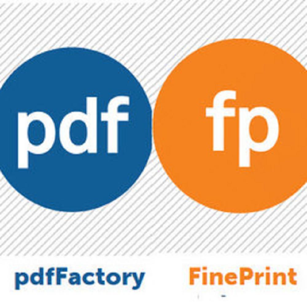 FinePrint+pdfFactory 標準組合包 單機版 (下載)