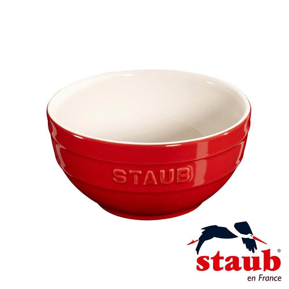 法國Staub 陶瓷碗 12cm-櫻桃紅(8H)