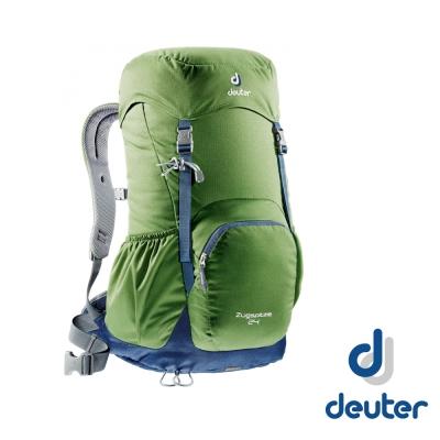 【德國 Deuter】ZUGSPITZE 網架直立式背包24L_綠灰