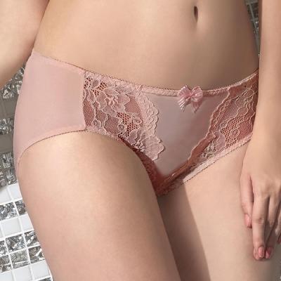 顏-EASY-SHOP-胸湧美型-中腰三角褲-粉芋色