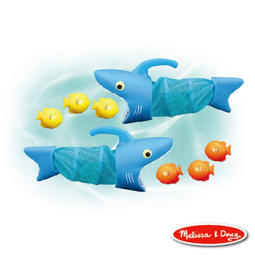 美國 Melissa & Doug  SP 斯巴克鯊魚追捕遊戲組