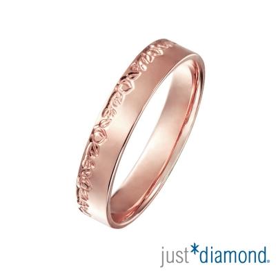 Just Diamond 18K玫瑰金戒指(4mm)-桃之實