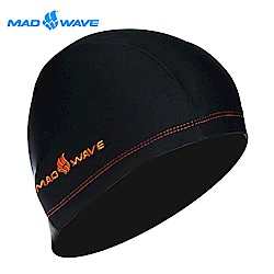 俄羅斯 邁俄威 成人萊卡彈性泳帽 MADWAVE LYCRA