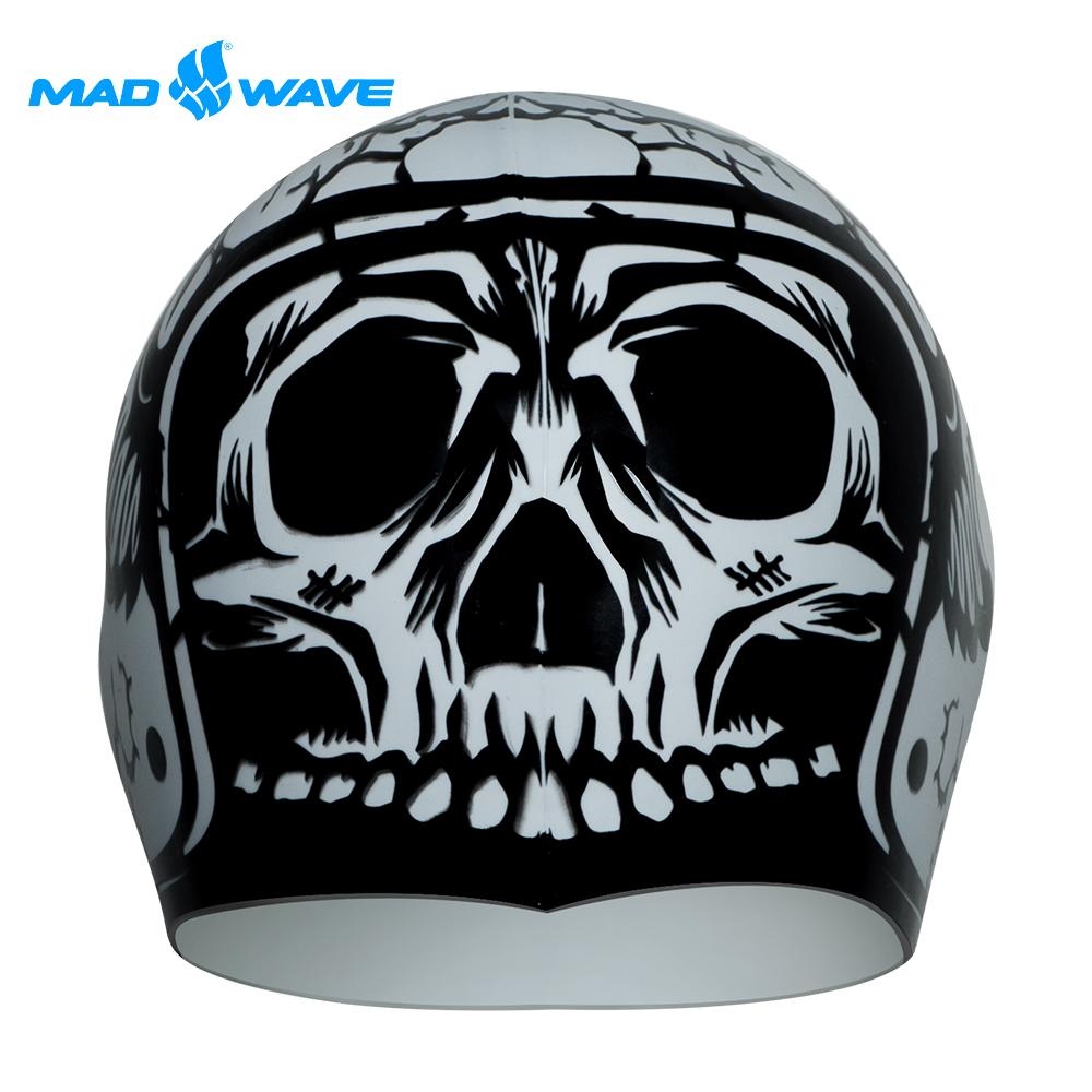 俄羅斯 邁俄威 成人矽膠泳帽 MADWAVE HARD HAT