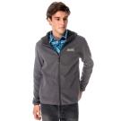 【hilltop山頂鳥】男款抗風保暖刷毛外套H22MU8灰