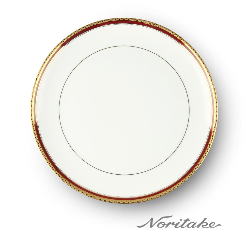 Noritake 華漾風華金邊中式圓盤27cm