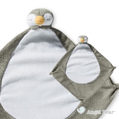 美國 Angel Dear 動物嬰兒安撫巾 (小企鵝)