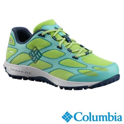 【Columbia哥倫比亞】女-防水戶外鞋-綠色 UBL60040GR