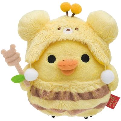 拉拉熊蜂蜜森林豐收節系列毛絨公仔(S) 小雞 San X