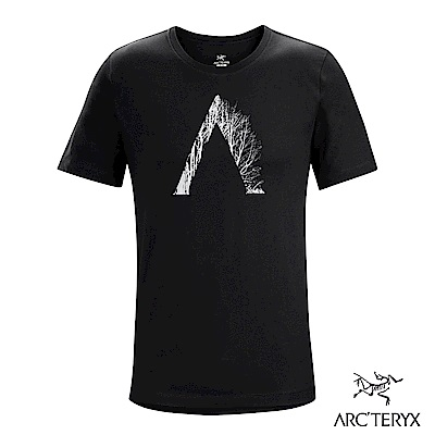 Arcteryx 始祖鳥 24系列 男 有機棉 Regenerat 短袖T恤 黑
