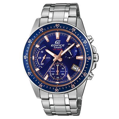 EDIFICE  衝刺釋放計時賽車腕錶-EFV-540D-2AVUDF-43mm