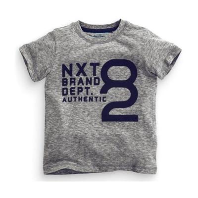 上衣 男童 簡約設計感 歐美經典兒童純棉短袖T恤