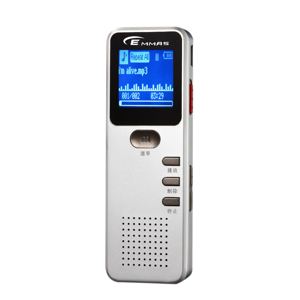【EMMAS】羽翼機數位MP3錄音筆(SY-970 4GB)