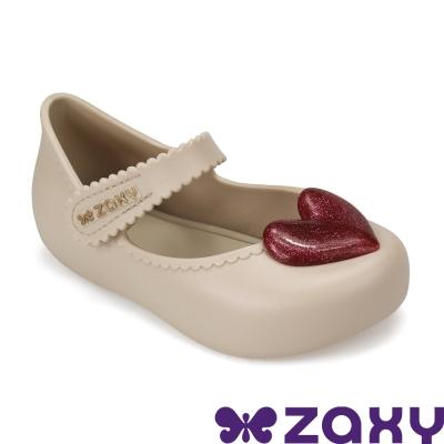 Zaxy 巴西 寶寶 親親甜心休閒娃娃鞋-粉膚色/桃紅色