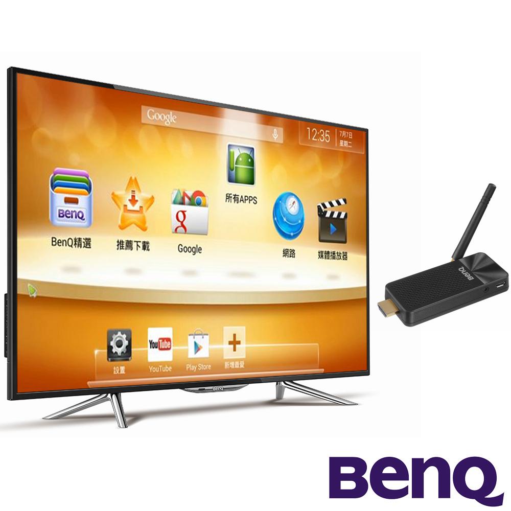 BenQ 43吋 低藍光液晶顯示器+視訊盒 43IW6500 +上網精靈 JD-150