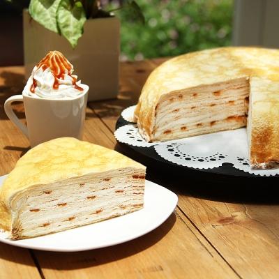塔吉特 太妃焦糖千層蛋糕(8吋)