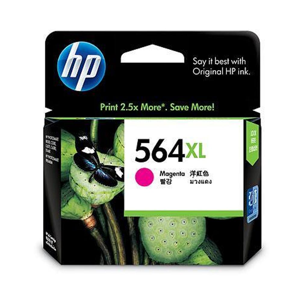 HP CB324WA NO.564XL 原廠洋紅色墨水匣