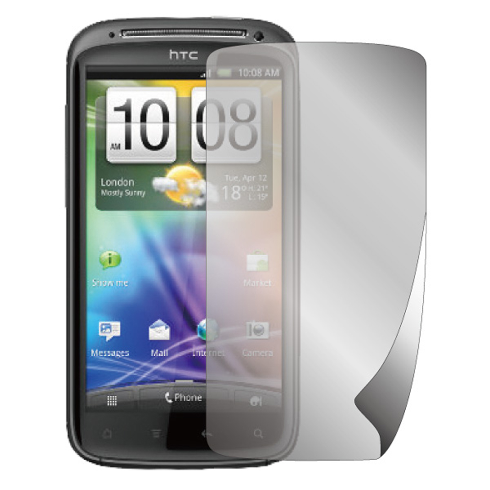 ZIYA HTC Sensation 抗刮螢幕保護貼 (兩入裝)