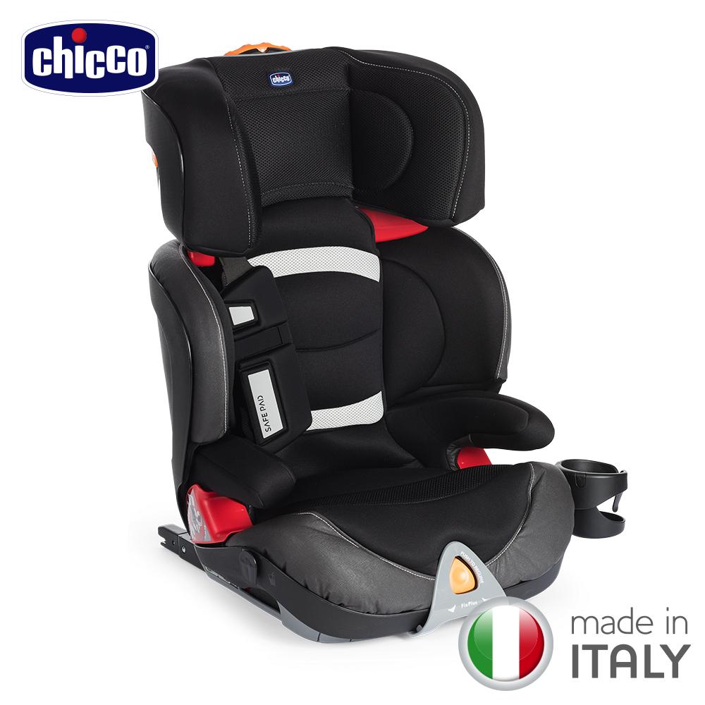 chicco-Oasys 2-3 FixPlus安全汽座-魅力黑