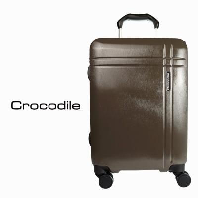 Crocodile 霧面鋁框箱含TSA-摩卡咖-24吋 0111-6324-02