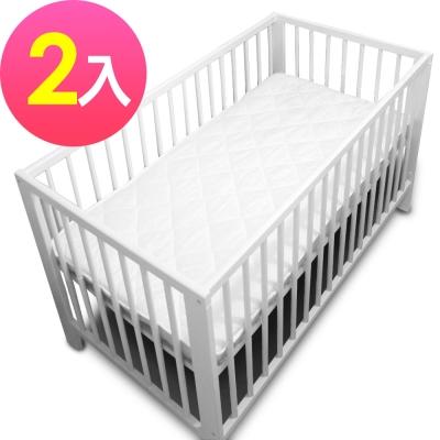 WallyFun 嬰兒床用保潔墊2入組 (120X60CM) ~台灣製造