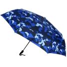 2mm 超大!街頭迷彩 超大傘面自動開收傘 (寶藍)