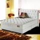 MG珍寶-三線蠶絲+乳膠抗菌麵包型蜂巢獨立筒床墊-雙人加大6尺 product thumbnail 1