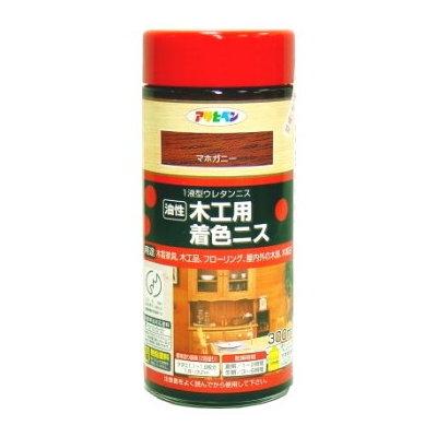 日本製油性木製品著色清漆300ml(8色選)
