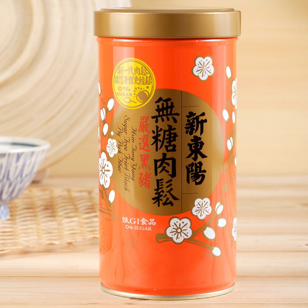 新東陽 黑豬無糖肉鬆(255g)