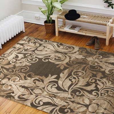 Ambience 比利時Valentine 玄關/床邊絲毯-洛可可 (100x140cm)