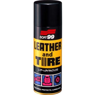 日本SOFT 99噴蠟(皮飾和輪胎的保護蠟)-急速配