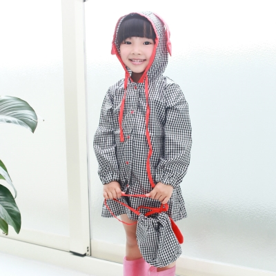 baby童衣 兒童雨衣 女童洋裝式防水雨具 41042