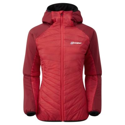 【Berghaus 貝豪斯】女款溫度調節高科技棉雙面穿外套H22FR9黑
