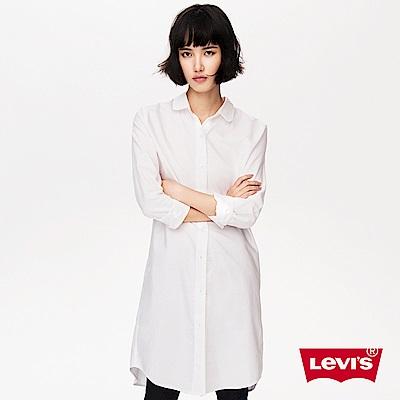 長版上衣 女裝 玫瑰印花襯衫 - Levis