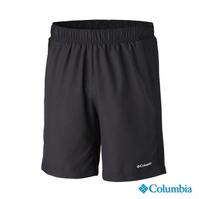 【美國Columbia哥倫比亞】冰點快排防曬30短褲-男-黑色(UAE47200BK)