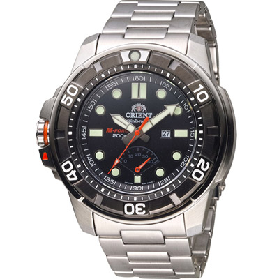 ORIENT 東方錶 M-FORCE FOR AIR DIVING系列潛水機械錶-48mm