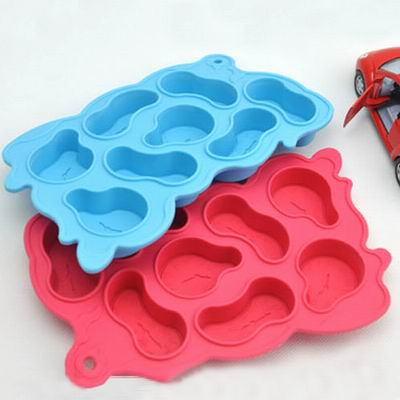 【iSFun】扭曲時空*矽膠模型製冰盒/隨機色