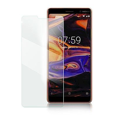 Xmart for NOKIA7 PLUS  薄型 9H 玻璃保護貼-非滿版
