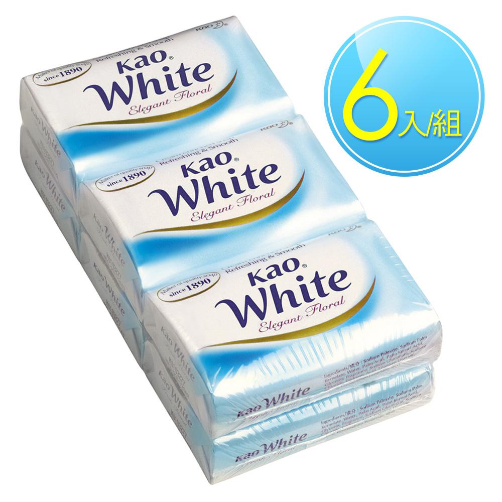 花王 KAO 優雅花香香皂 (130gX6入)