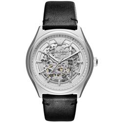 Emporio Armani 復刻工業雙面鏤空機械腕錶(AR60003)-42mm