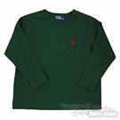Ralph Lauren墨綠純綿長袖T恤(2歲)