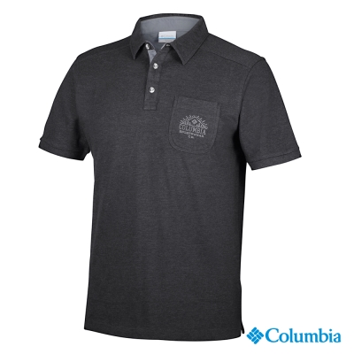 Columbia哥倫比亞-快排POLO衫-黑(UAO10930BK)
