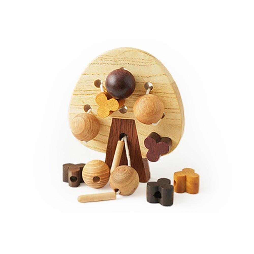Soopsori 原粹木積木 - 穿線蘋果樹-聖誕禮物