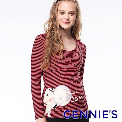 Gennies專櫃-January原誕哺乳衣(GNM01)