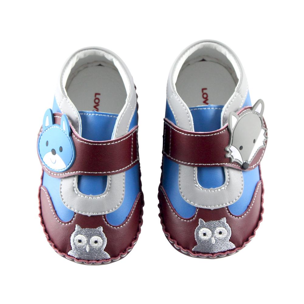 愛的世界 狐狸伙伴寶寶鞋/學步鞋-台灣製-